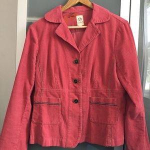 Anthropologie Tiny Women's Rose Corduroy Jacket